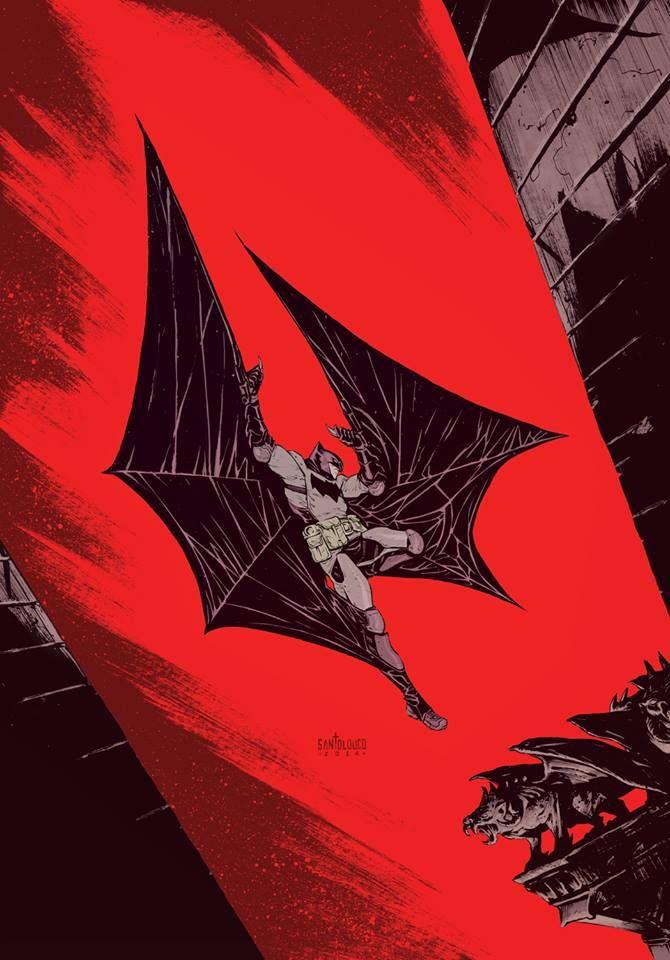 Batman by Mateus Santolouco