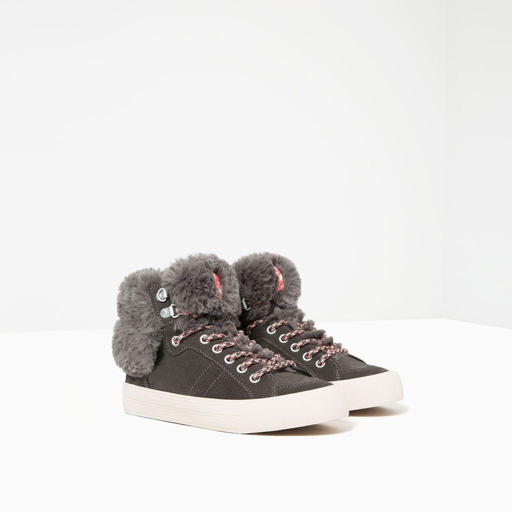 Chaussures Tout Enfants Imitation Bottine Voir Sport Fourrure Fille tpw8A