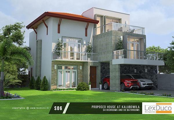 House Designs Sri Lanka New House Plans Modern Style House Plans House Design