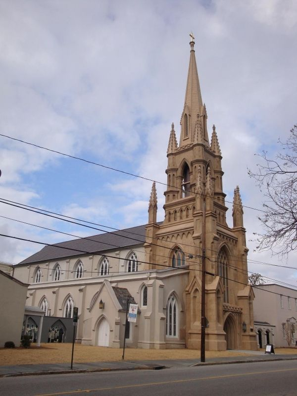 Grace Episcopal Church 98 Wentworth St On February 16 1846 Grace Church Was Admitted To The Diocese Of South Carolina