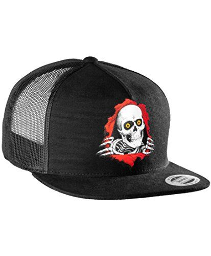 Powell Peralta Ripper Snap Back Trucker Hat Powell  06a7aab41b7
