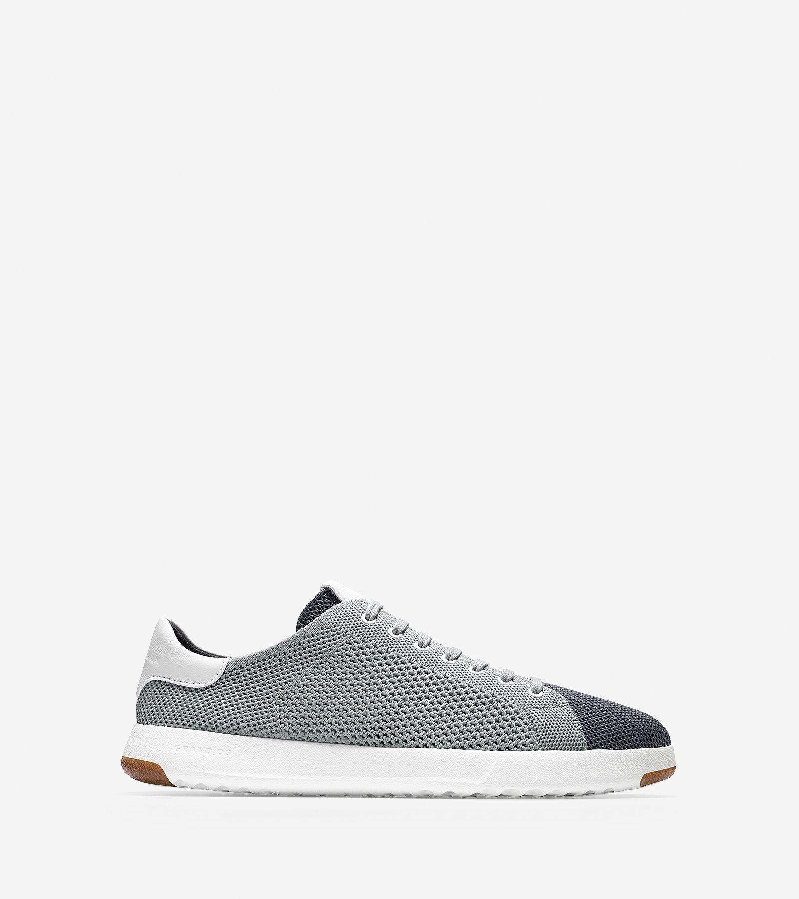 c2b3b2211be8de ZERØGRAND Stitchlite 2.0 stretch-knit oxford shoes--Black Shoes