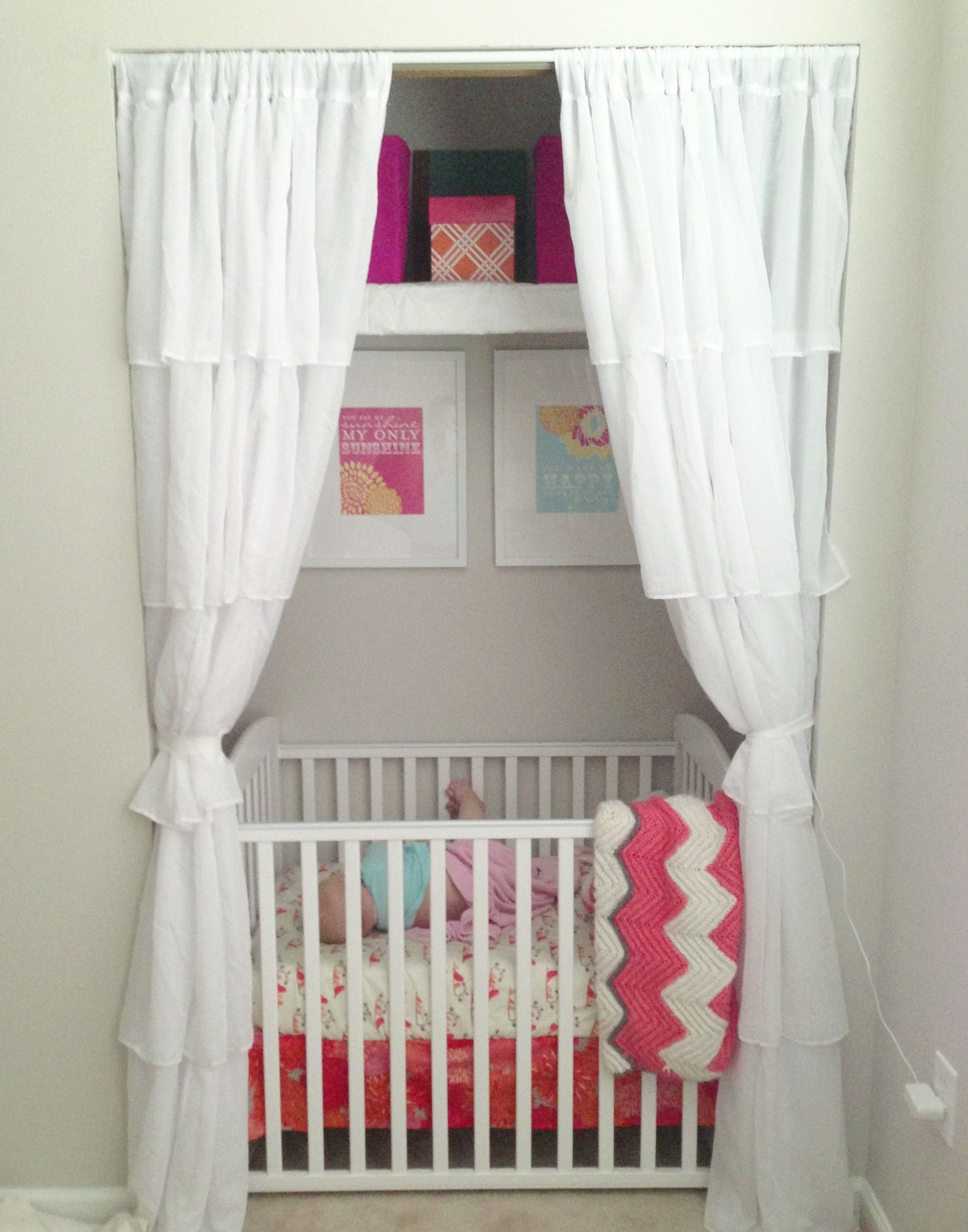 Closet Nursery In Our Little Townhouse Sometime S You