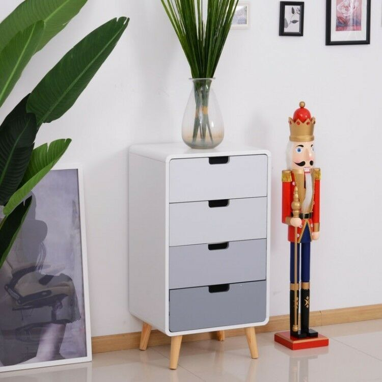 Tall Chest Of Drawers Vintage Slim Cabinet Retro Narrow Scandinavian Furniture In 2020 Furniture Scandinavian Furniture Cabinet