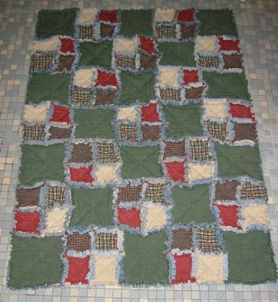 Rag Quilted Rug