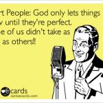 Short people…