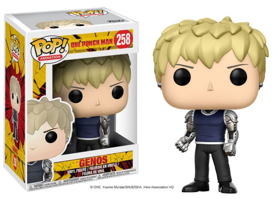 Pop Anime One Punch Man Genos Funko 258 Funko Pop Anime