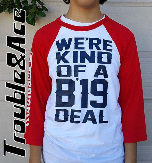 9b11fec90 We're Kind of a Big Deal Temecula Prep Class of 2019 TPS Pride Shirt, 3/4  Sleeve Unisex Raglan Baseb
