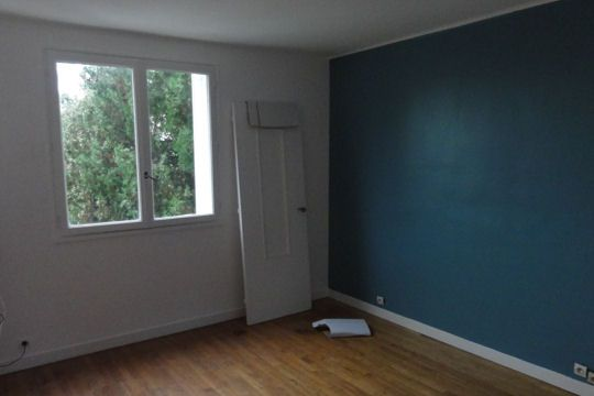 bureau bleu petrole peinture pinterest bureau bleu bleu p trole et petrole. Black Bedroom Furniture Sets. Home Design Ideas