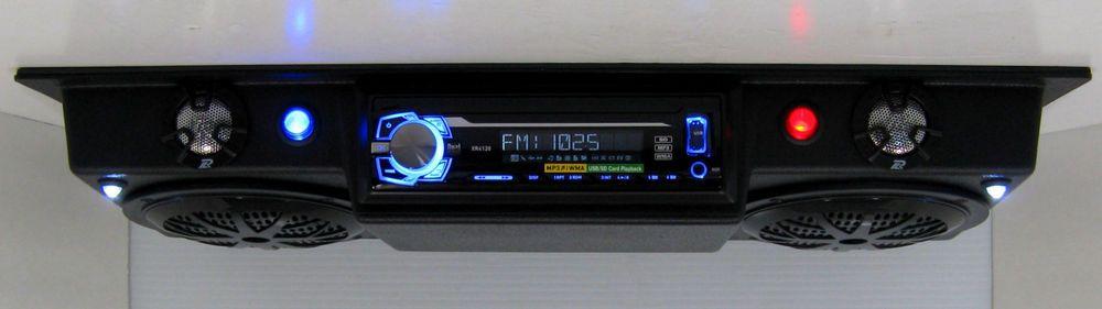 Golf Cart Radio Polaris Rzr Ranger Utv Overhead Console Stereo Radio Golf Carts Rzr Radio