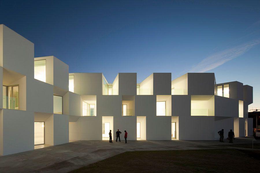Residenza per anziani, Alcácer do Sal, Portogallo   Architecture ...