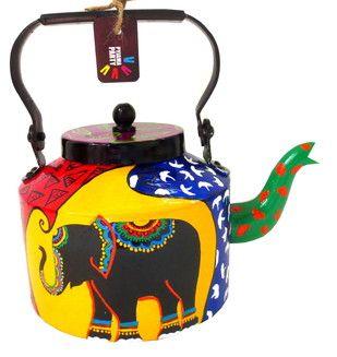 Limited Edition kettle- Elephant Tales Serveware