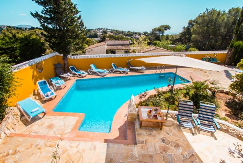 Holiday Home Moraira Costa Blanca Villa Spain For Rent Barren