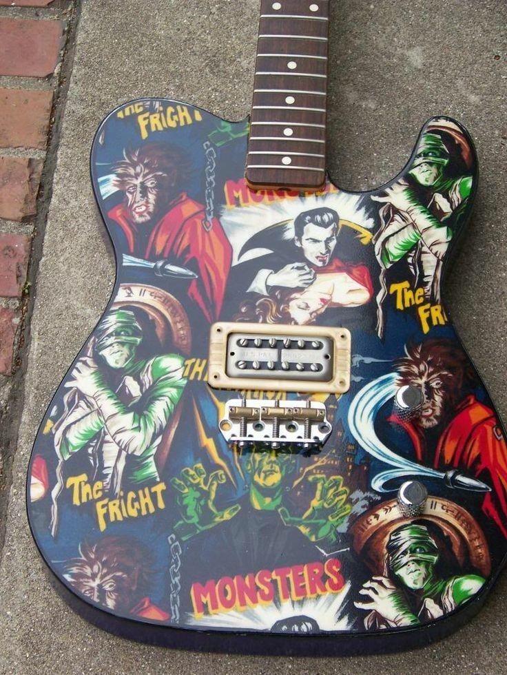 Pin Uzivatele Chris Cline Na Nastence Guitars Pinterest