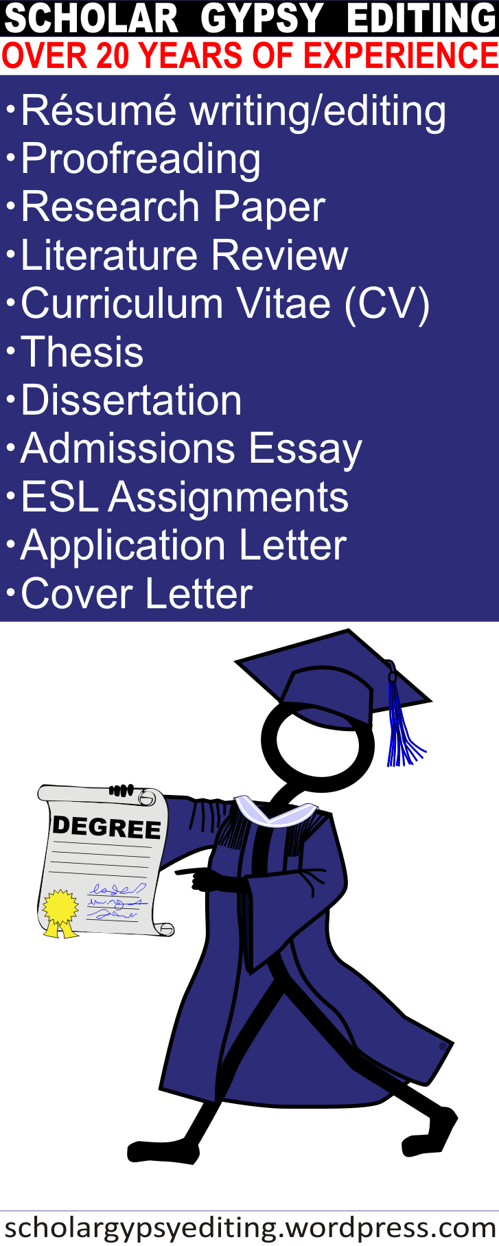 Proofreading Editing Resume Cv Curriculumvitae Apaformatting
