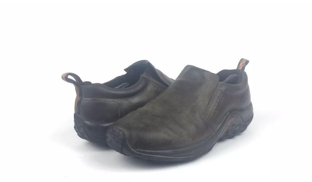 merrell jungle moc leather mens 36