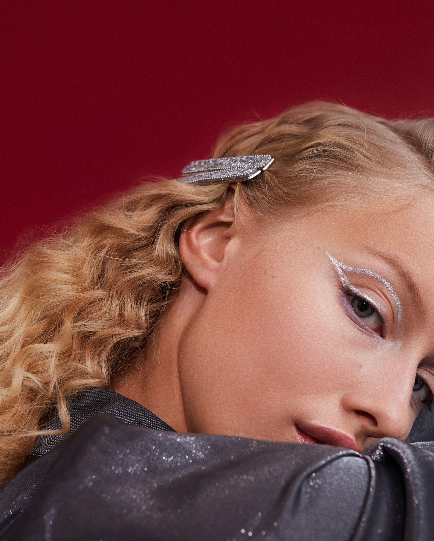 XMAS Makeup: silberner Eyeliner XMAS Makeup: silberner Eyeliner