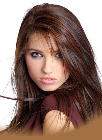 very pretty brunette