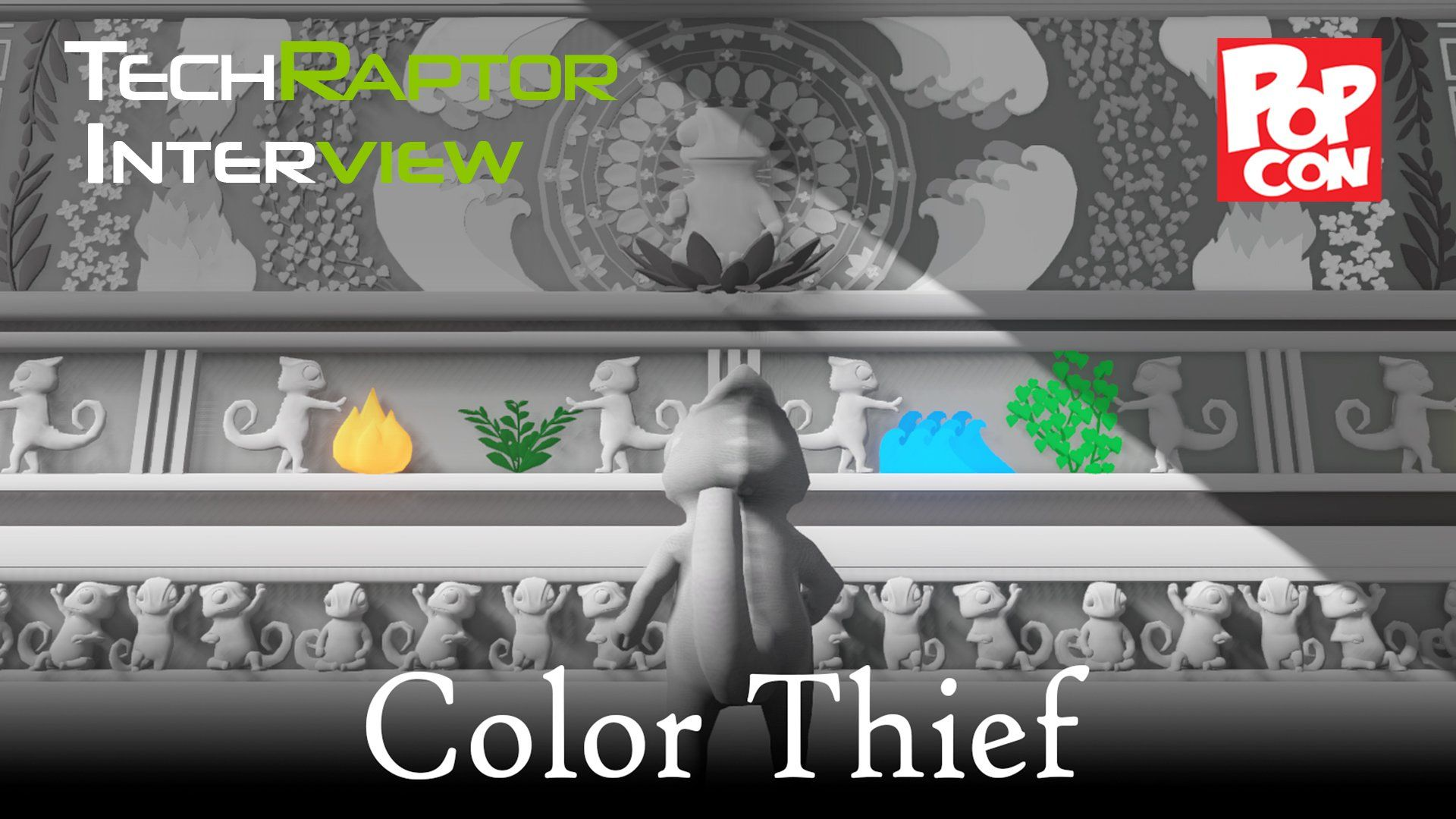 Indy PopCon 2016 - Color Thief - http://techraptor.net/content/indy-popcon-2016-color-thief | Gaming, Interviews, Videos