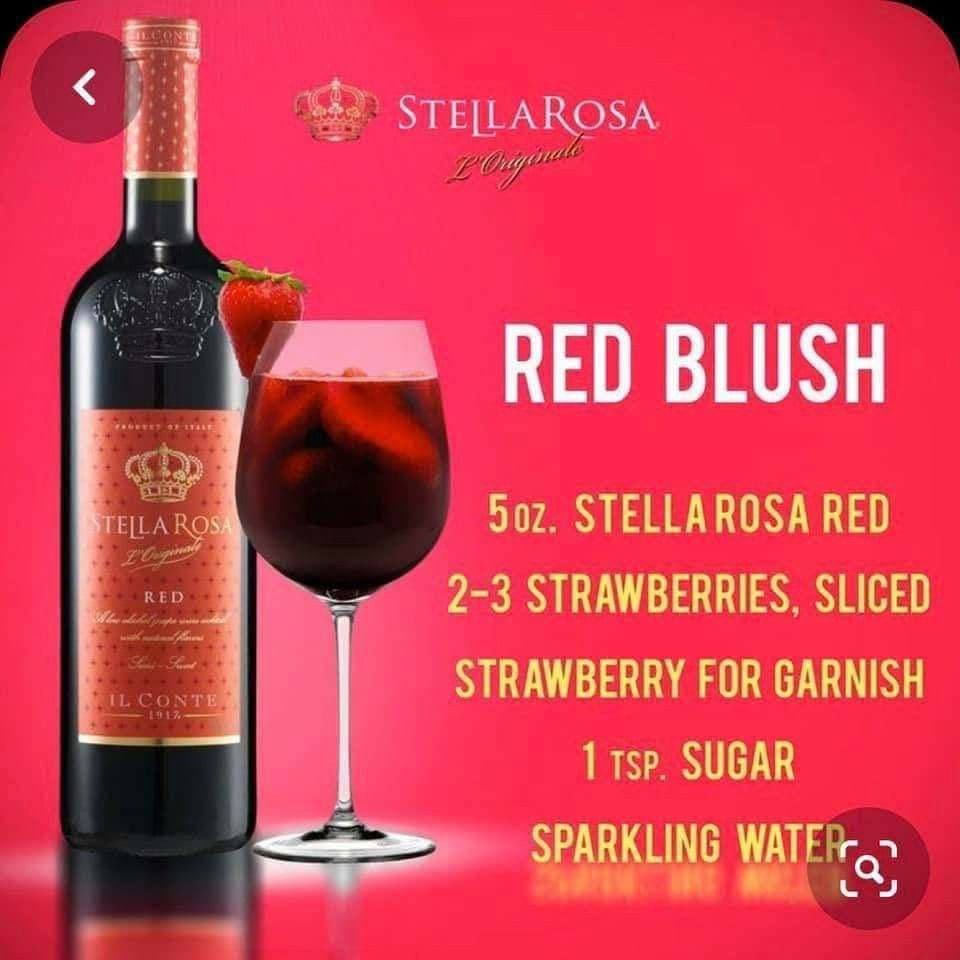 Pin By Taylor Made On Cocktails Beverages In 2020 Wine Cocktail Recipes Wine Mixed Drinks Stella Rosa Wine