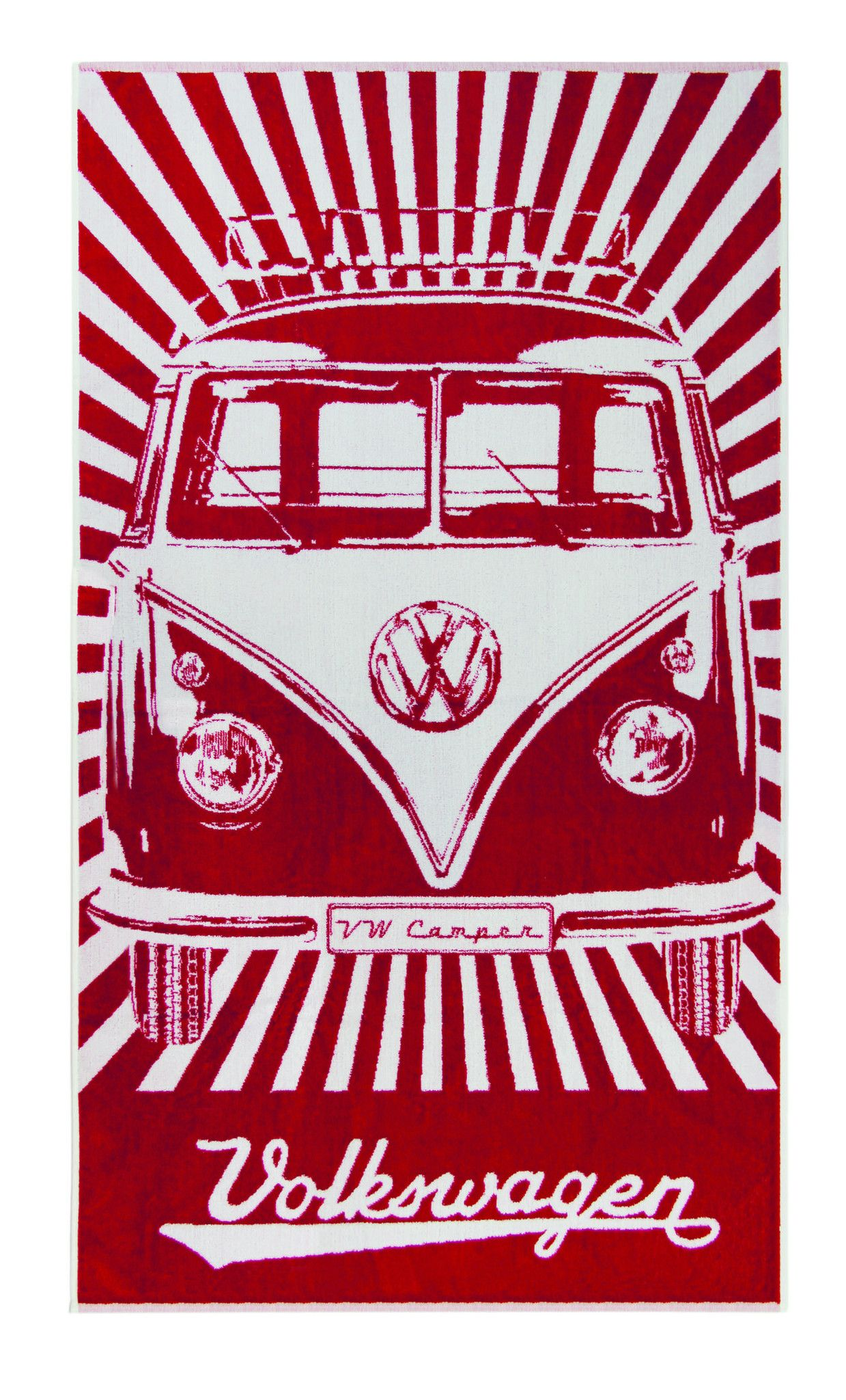 Vw Bus Beach Towel Red This That Everything Pinterest Vw