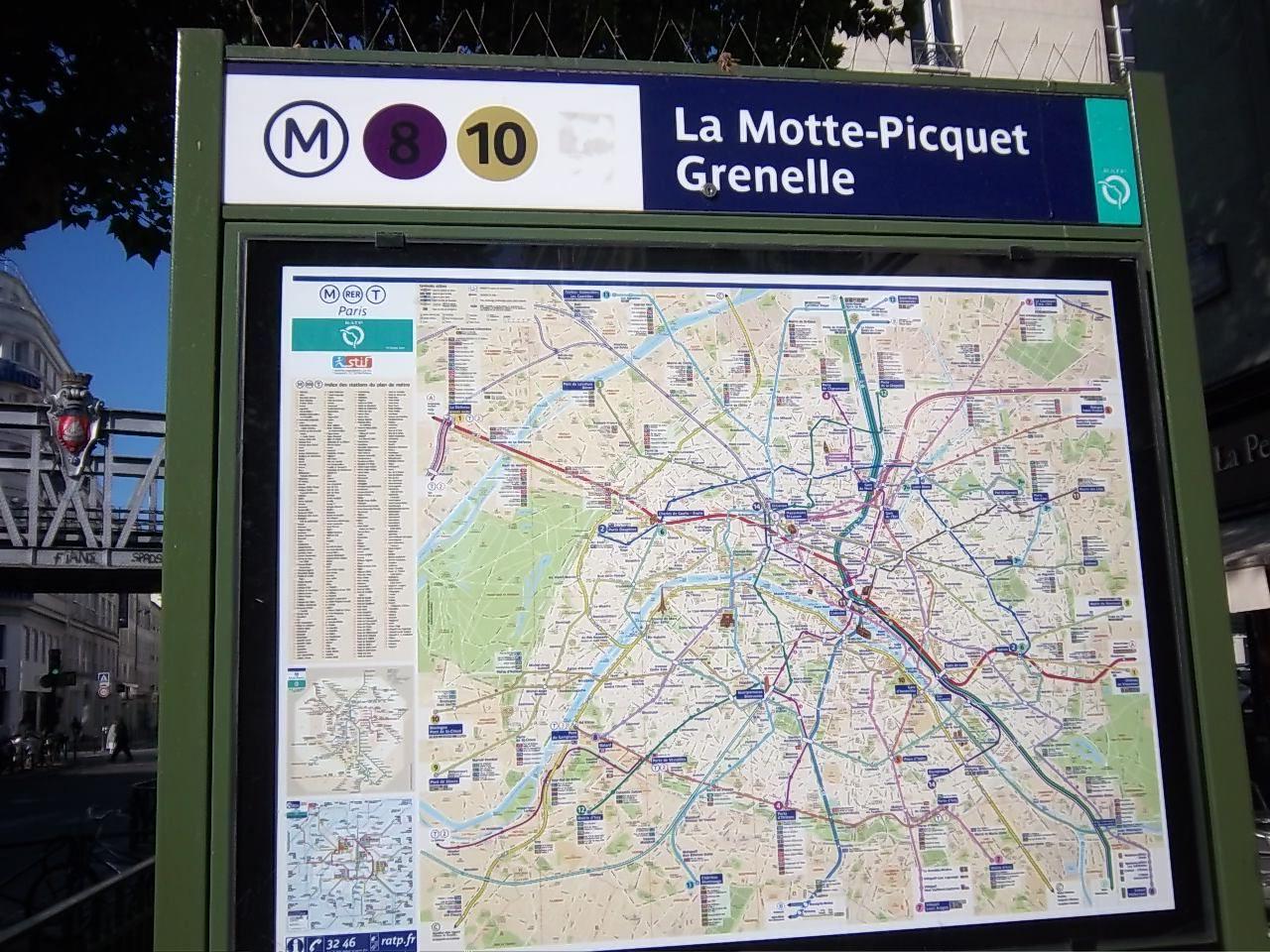 La Motte Picquet Metro Grenelle Station Paris Travel Paris Metro Travel