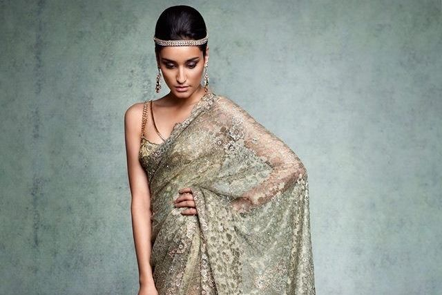 The grace of lace lace saree chantilly lace and indian couture the grace of lace aloadofball Choice Image