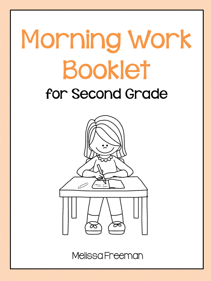 Morning Work for Grade 2 | Educational Finds & Teaching Treasures ...