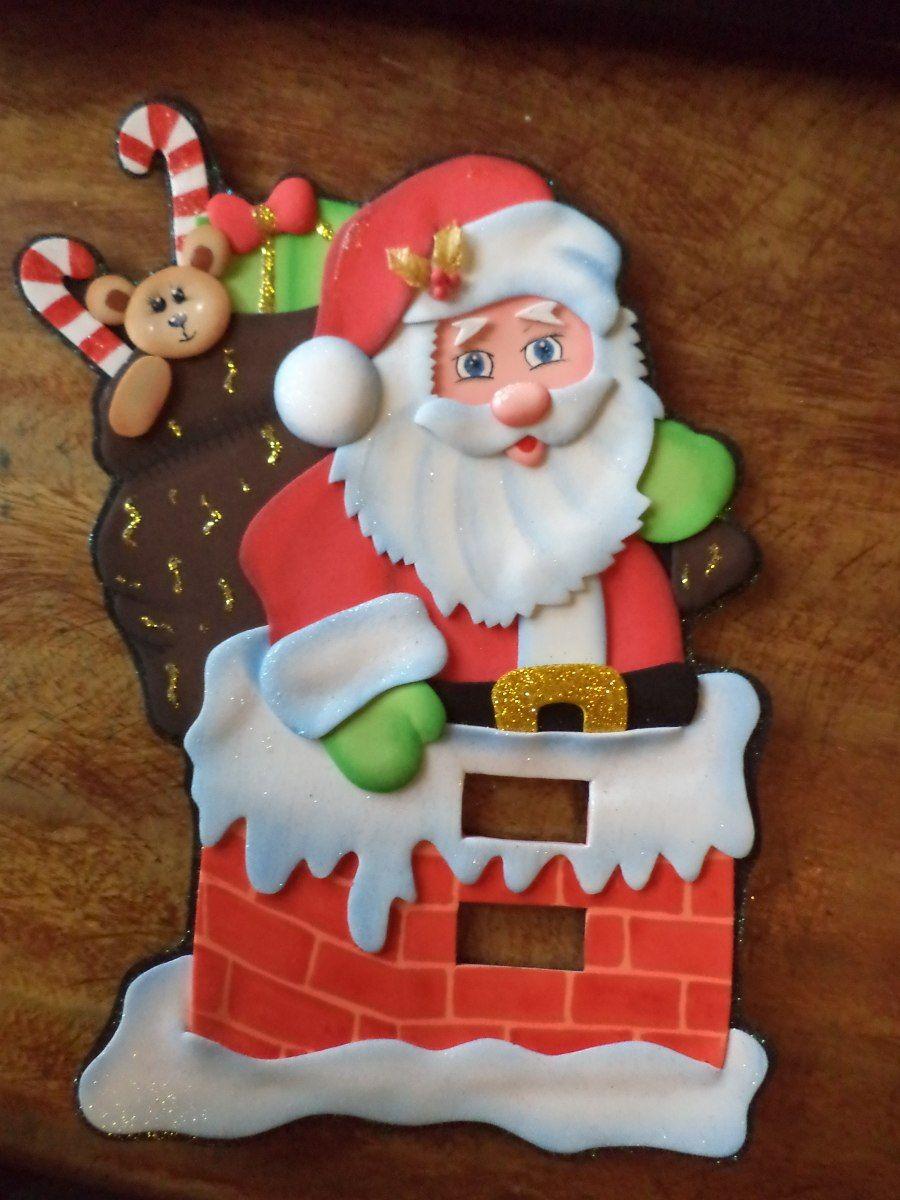 Decoraciones en foami buscar con google navidad - Decoraciones de navidad ...