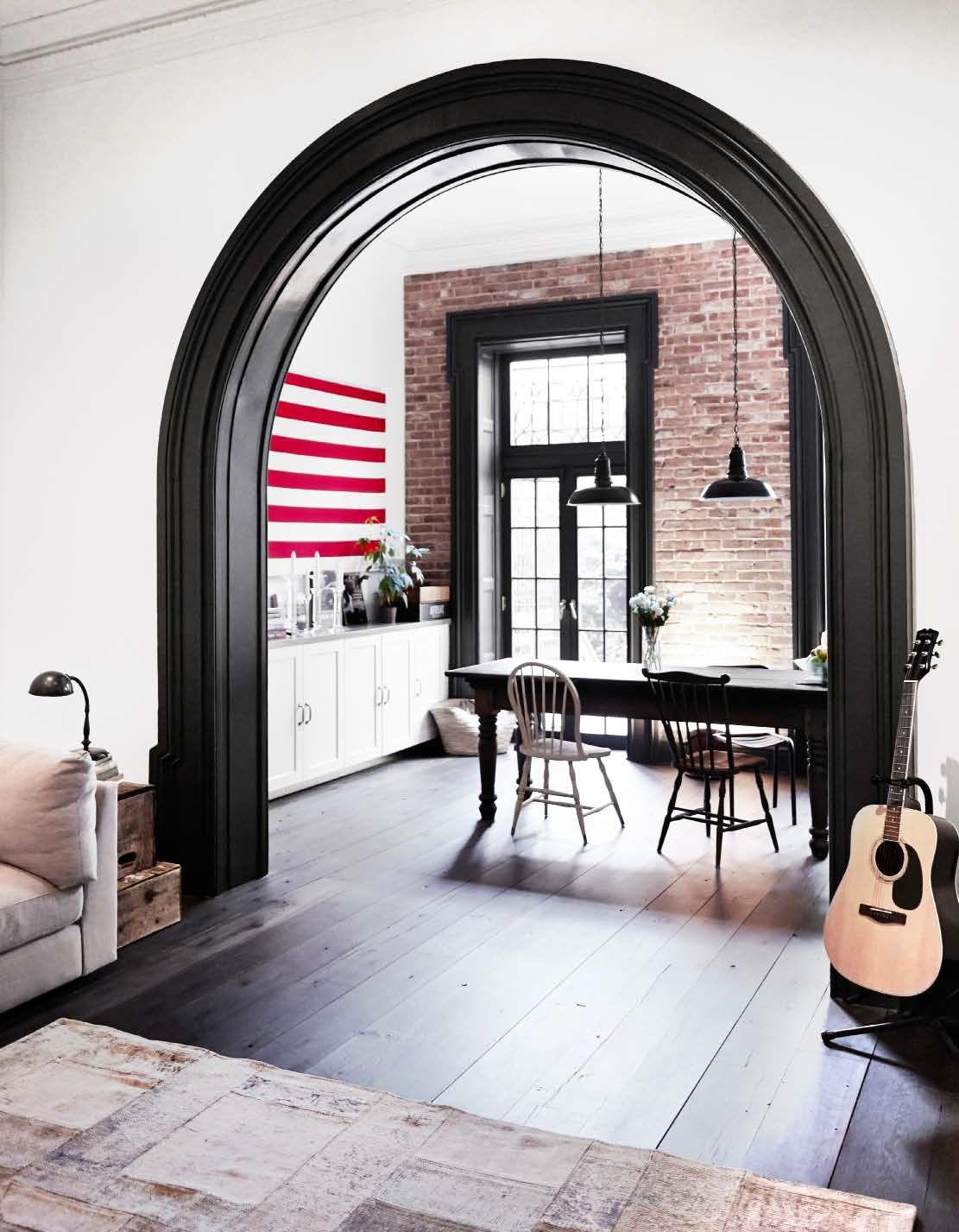 Una casona francesa en Nueva York | Casa de nueva york, Pared de ...