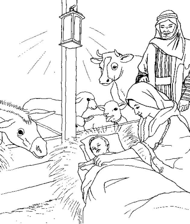 coloring page bible christmas story bible christmas story - Christmas Story Coloring Pages
