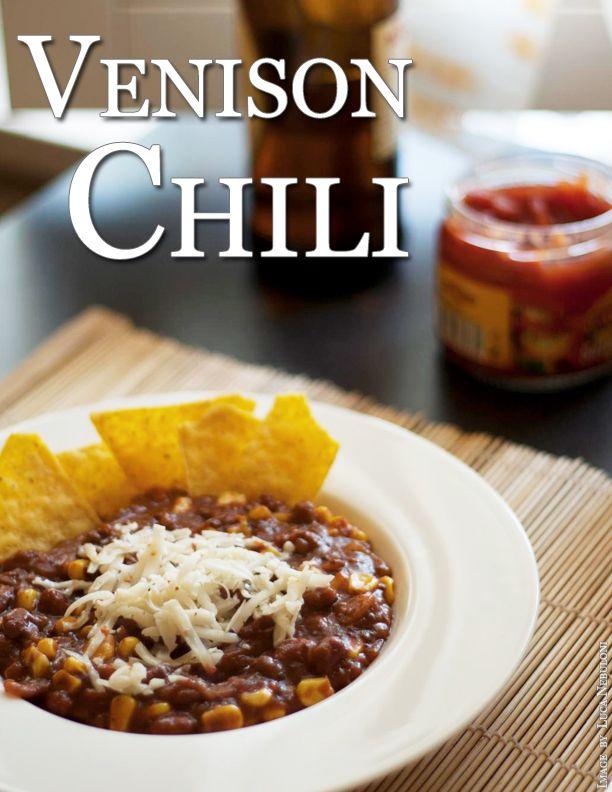 Venison Chili Recipe