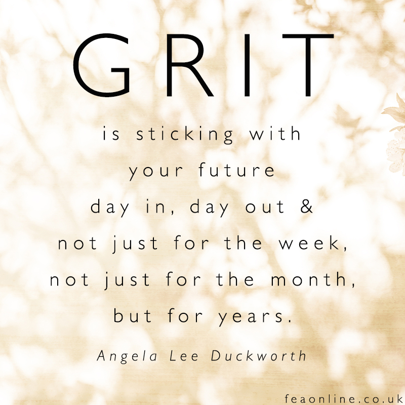 The Key To Success Grit Motivation Monday Melissas One Word