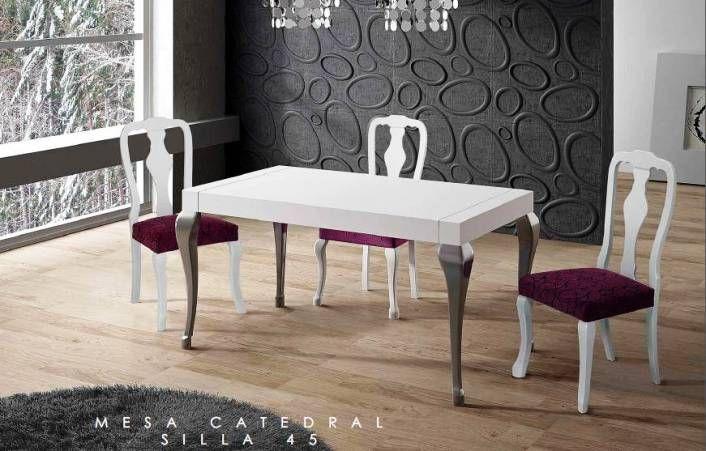 Mesa de comedor mod catedral mesacomedor muebles muebles for Muebles lopez arevalo