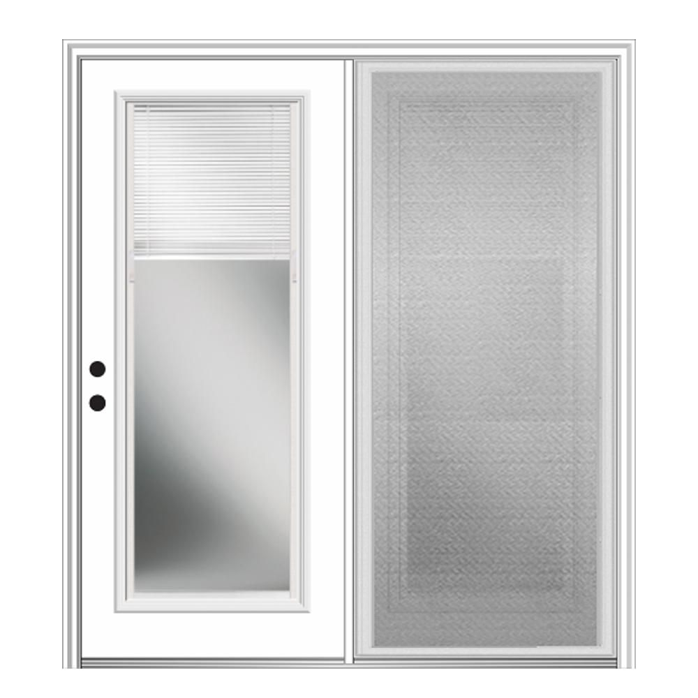 Mmi Door 75 In X 81 75 In Fiberglass Prehung Right Hand Internal