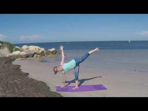 learn how to do half moon pose stepstep  pilates