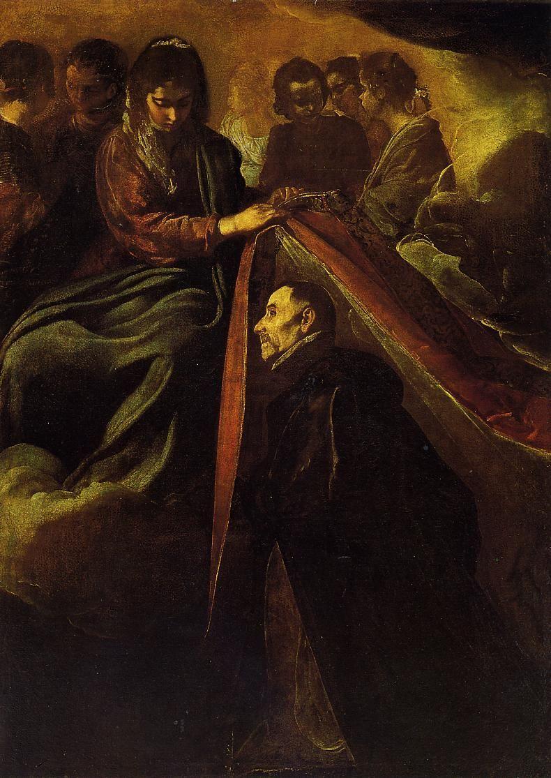 Velázquez: Imposición de la casulla a San Ildefonso. Sevilla, MBA (depósito del Ayuntamiento)