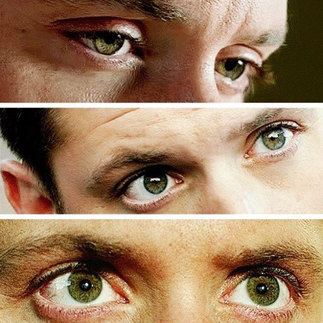 Beautiful green eyes!! ❤️ #JensenAckles #DeanWinchester #Supernatural #SPNFamiIy #Ackleholic