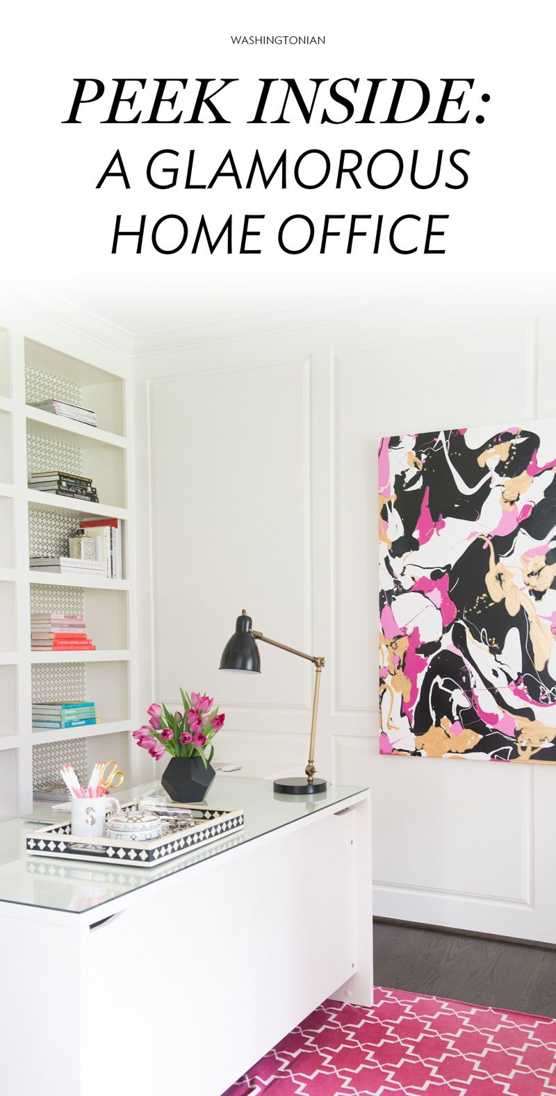 Stylist Naina Singla shares a glimpse inside her fun and functional Bethesda workspace | Washingtonian