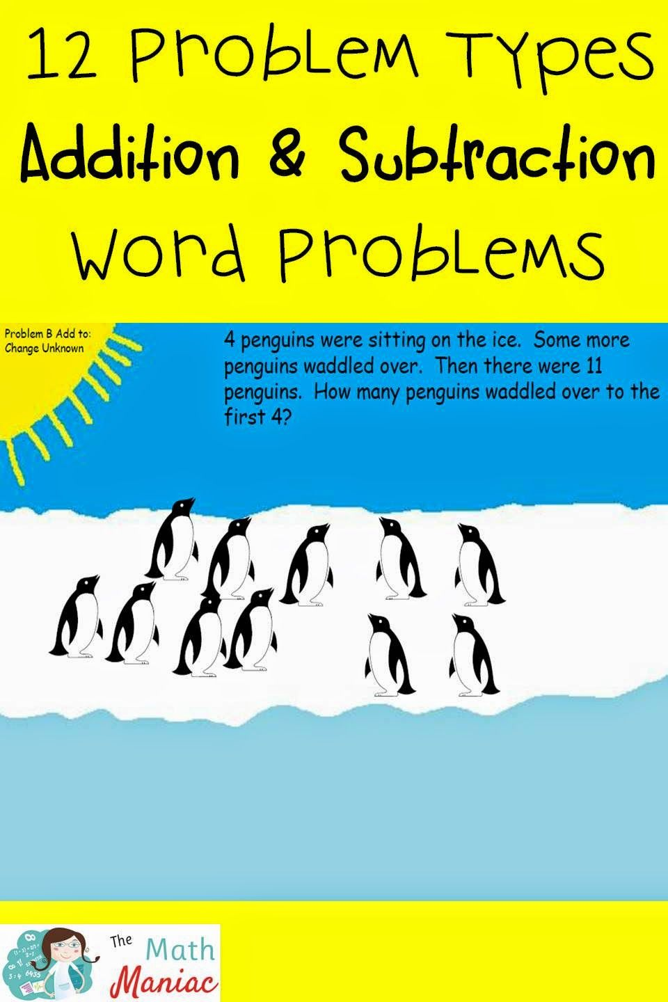 How are your K-2 students doing with addition and subtraction word ...
