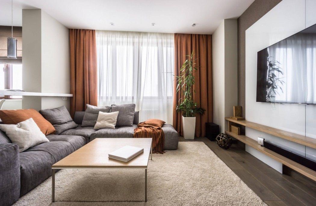 дизайн зала в квартире фото 2019 современные идеи 5