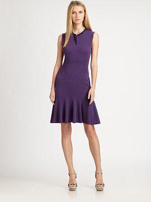 Elie Tahari  Monica Sleeveless Cashmere Dress