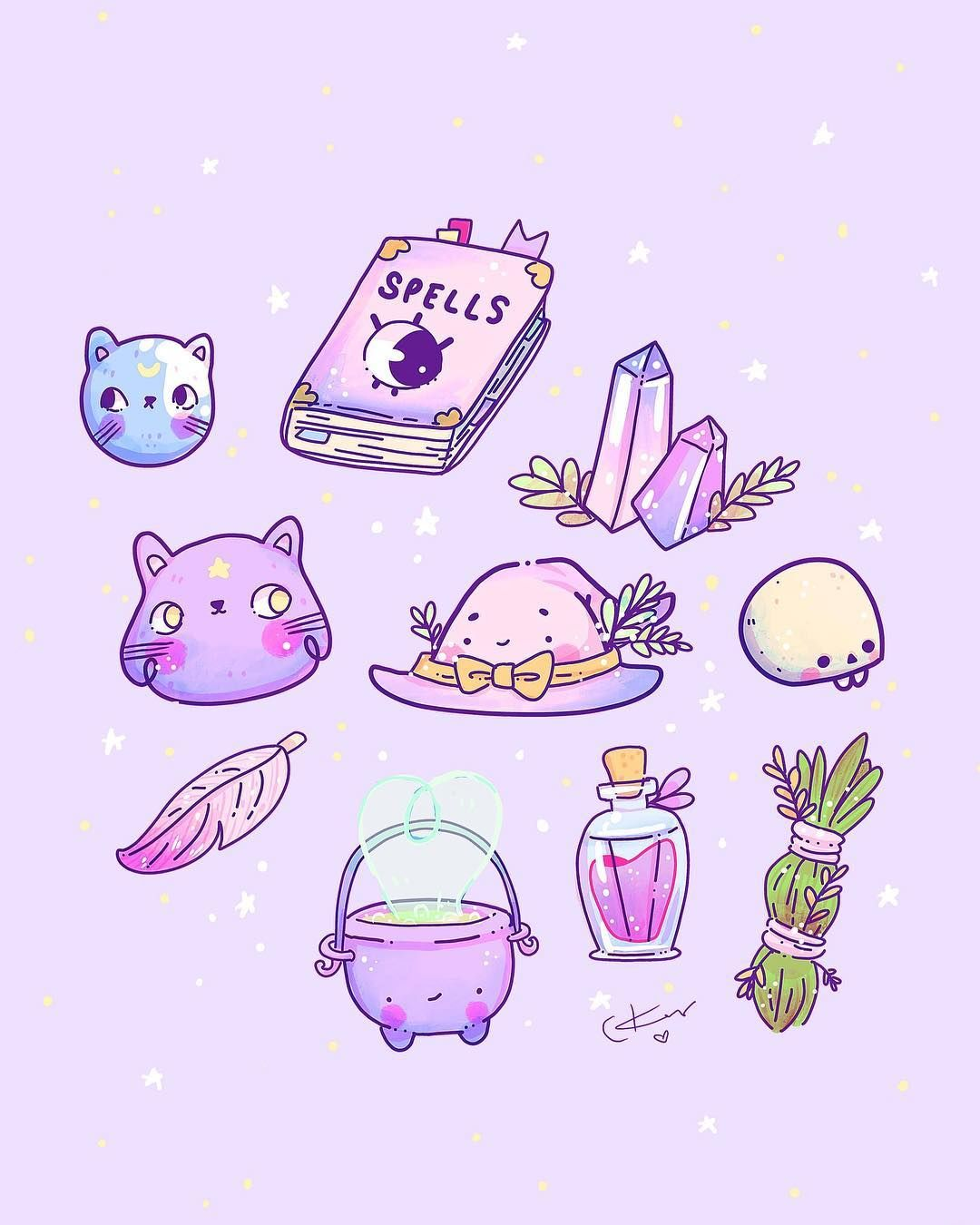 Pin On Pastel Witch