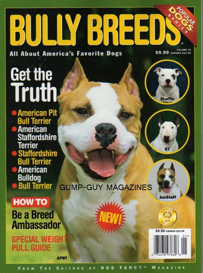 Libros Sobre Pitbull Buy Bully Breeds Of Dog Fancy Magazine American Pit Bull Terrier