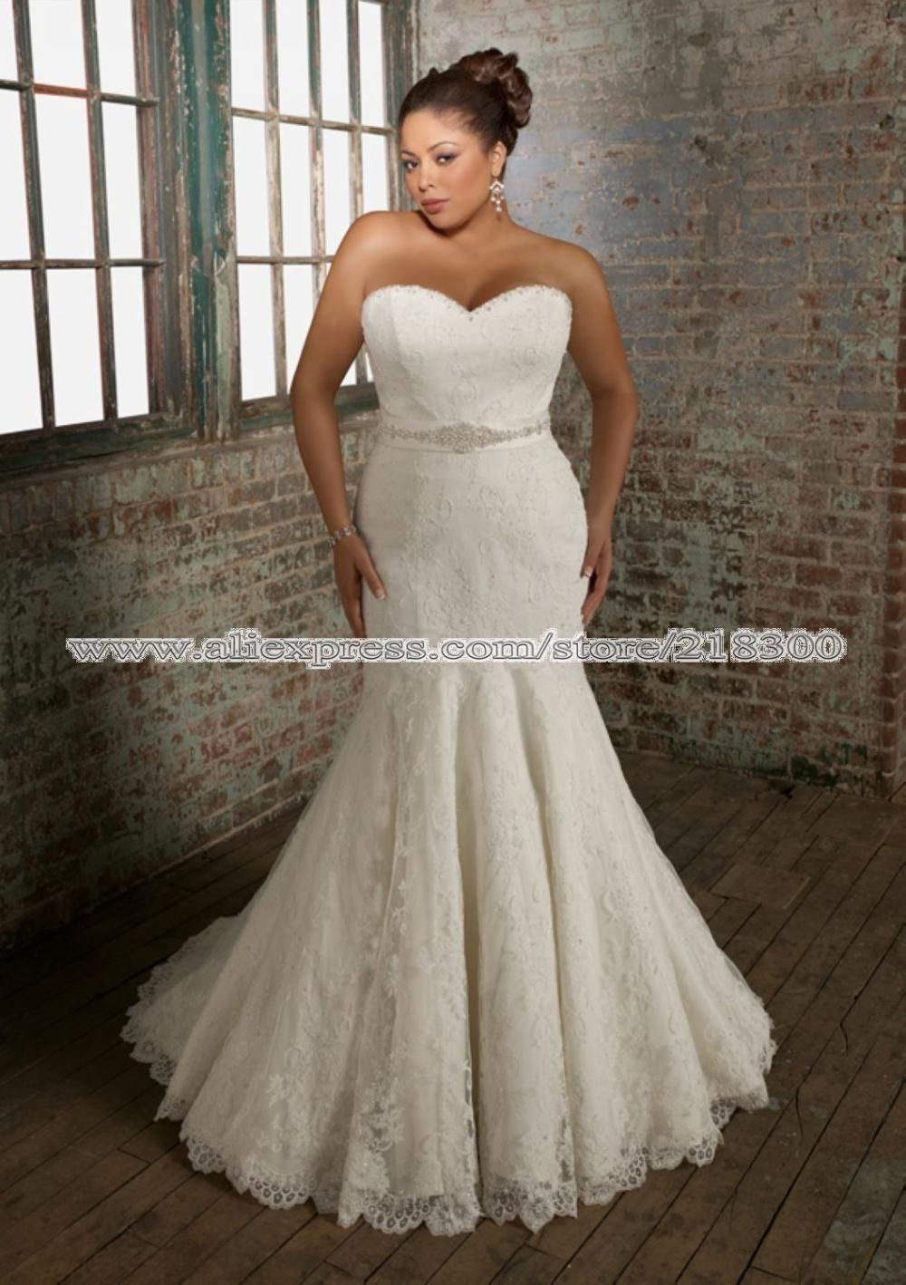 Womens wedding dresses for full figured women mermaid lace womens wedding dresses for full figured women mermaid lace plus size wedding ombrellifo Images