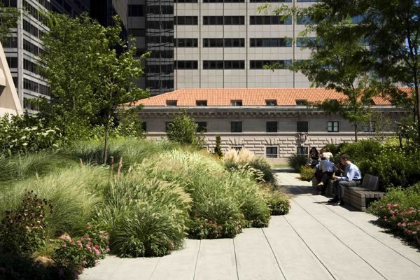 Ken Smith Landscape Architect Collaborated With Architects Rogers