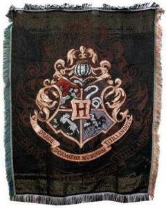 Harry Potter Hogwarts Crest Blanket
