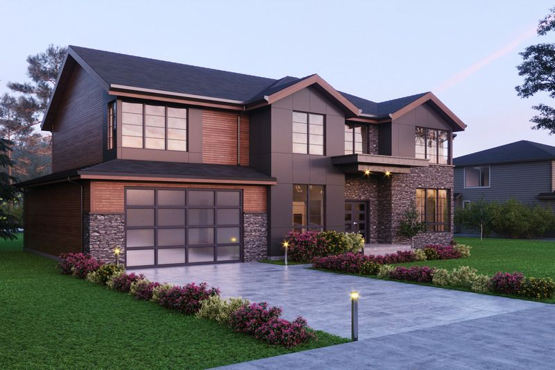 Traditional Style House Plan 4 Beds 4 5 Baths 4001 Sq Ft Plan