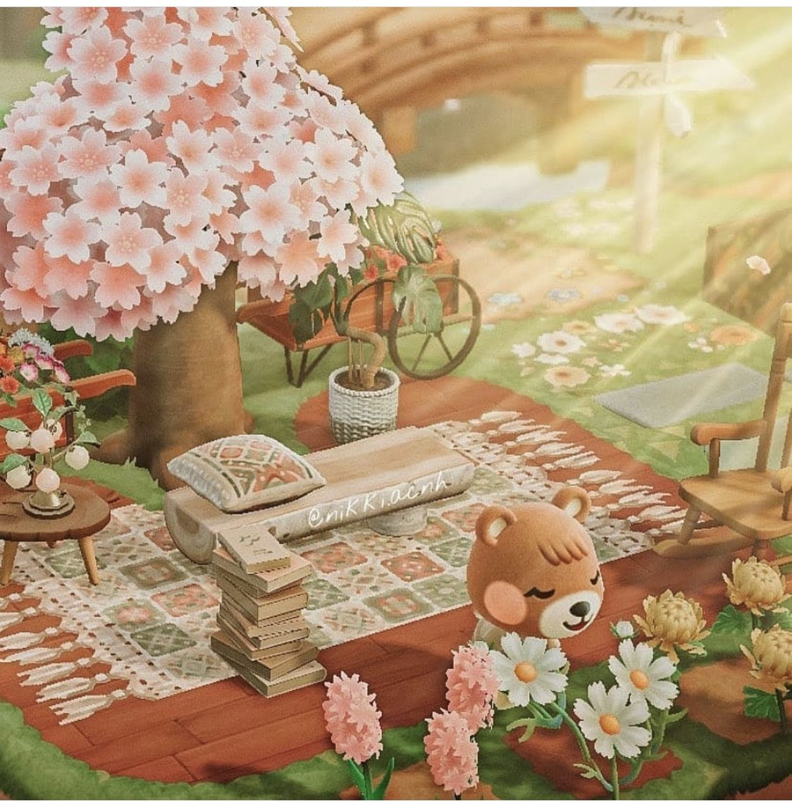 Pin By Alaina On Acnh In 2021 Animal Crossing Animals Cherry Blossom Season