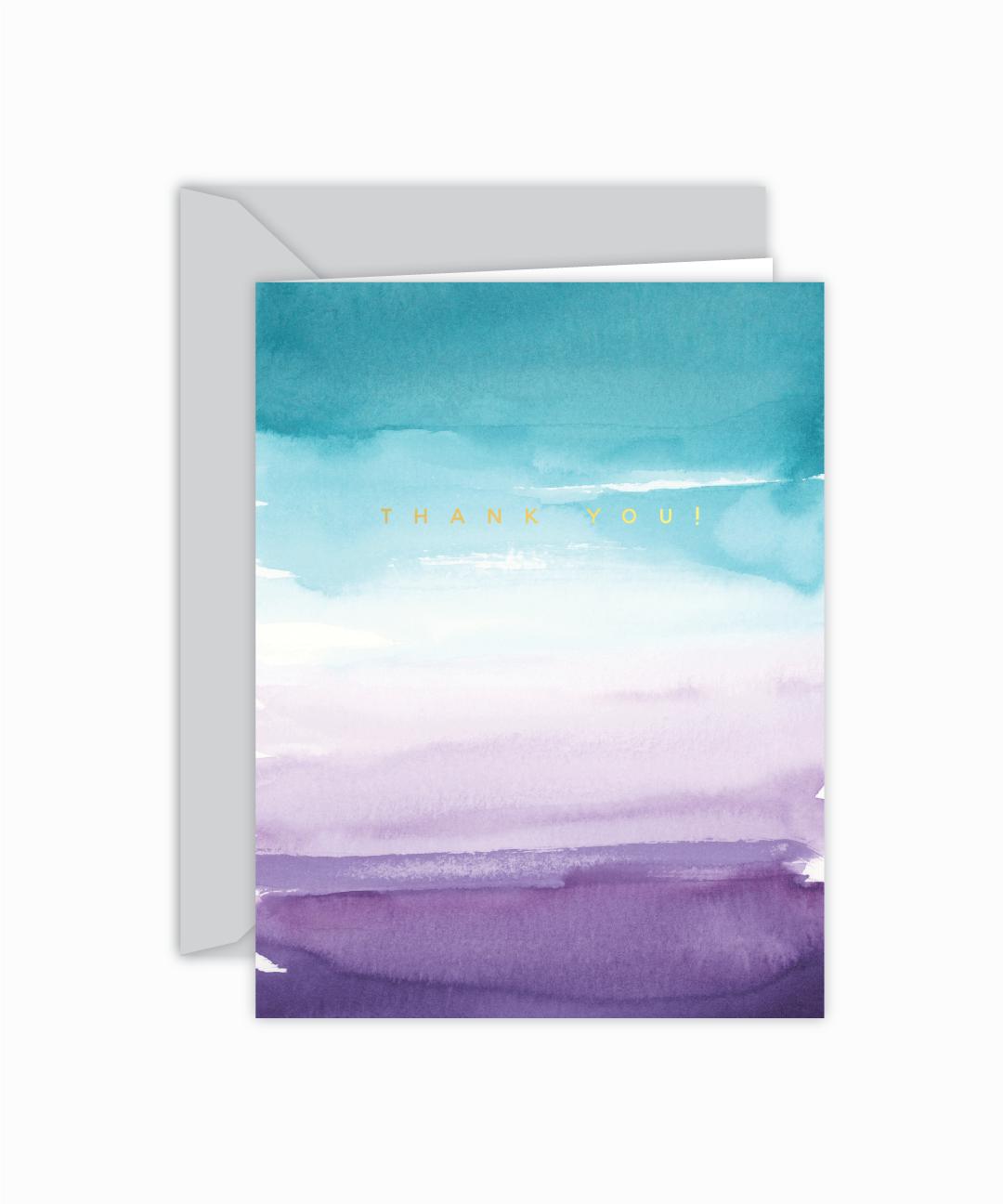 Бумага открытка акварель